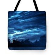 Sunrise In Blue Tote Bag
