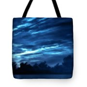 Sunrise In Blue Tote Bag