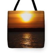Sunrise On Seneca Lake Tote Bag