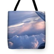 Sunrise Over The Wing Tote Bag