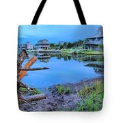 Sunset On The Sound Tote Bag