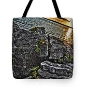 Sunset Please On The Rocks Tote Bag