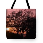 Sunset Tote Bag by Saifon Anaya