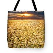 Sunset Wheat Tote Bag