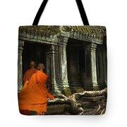 Ta Prohm Cambodia Tote Bag