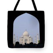 Taj Mahal, Agra India Tote Bag