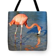 Taking A Drink Tote Bag