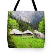 Tatra Mountains In Poland Tote Bag