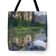 Taylor Lake, Banff National Park Tote Bag