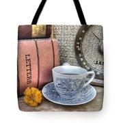 Tea Time Tote Bag by Jane Linders