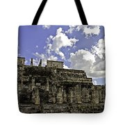 Temple Of The Warriors Tote Bag