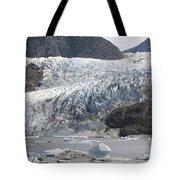 Terminal Moraine And Glacial Lake Tote Bag