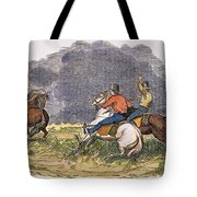 Texas Cowboys, C1850 Tote Bag