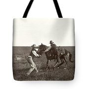 Texas: Cowboys, C1908 Tote Bag