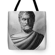 Thales, Ancient Greek Philosopher Tote Bag by Photo Researchers, Inc.