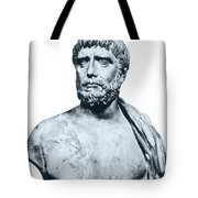Thales, Ancient Greek Philosopher Tote Bag by Photo Researchers