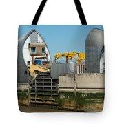 Thames Barrier Tote Bag