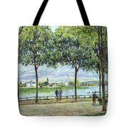 The Avenue Of Chestnut Trees Tote Bag by Alfred Sisley