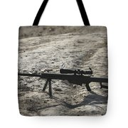 The Barrett M82a1 Sniper Rifle Tote Bag