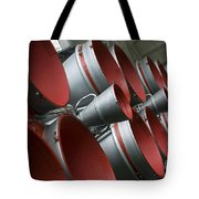 The Boosters Of The Soyuz Tma-14 Tote Bag