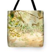 The Breeze Between Tote Bag