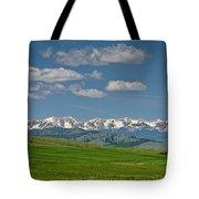 The Bridger Mountains Tote Bag
