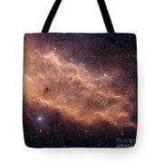 The California Nebula Tote Bag