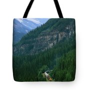 The Canada Pacific Train Travels Tote Bag