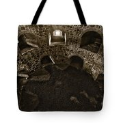 The Castle Of Tavastehus Bw Tote Bag