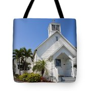 The Community Chapel Of Melbourne Beach Florida Tote Bag