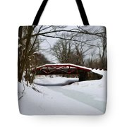 The Delaware Canal At Washington's Crossing Tote Bag by Bill Cannon