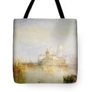 The Dogana And Santa Maria Della Salute Venice Tote Bag