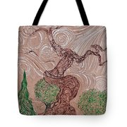 The Earthen Tree Tote Bag