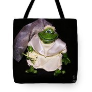 The Green Bride Tote Bag