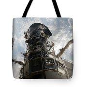 The Hubble Space Telescope Tote Bag