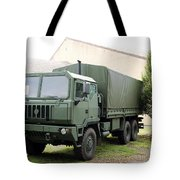 The Iveco M250 8 Ton Truck Used Tote Bag
