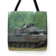 The Leopard 1a5 Main Battle Tank Tote Bag