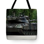 The Leopard 1a5 Mbt Of The Belgian Army Tote Bag