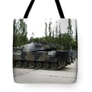 The Leopard 1a5 Of The Belgian Army Tote Bag