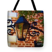 The Light Above Tote Bag