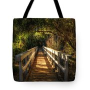 The Little White Bridge II  Tote Bag
