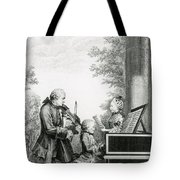 The Mozart Family On Tour, 1763 Tote Bag