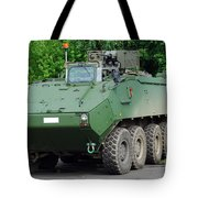 The Piranha IIic Of The Belgian Army Tote Bag
