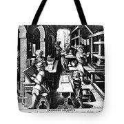 The Printing Of Books Tote Bag