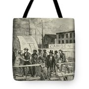 The Rescue Of Jane Johnson And Her Tote Bag by Photo Researchers