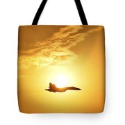 The Russian Knights Display Team Tote Bag