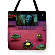 The Sighting At The Neptune Fly In Tote Bag