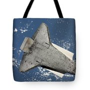 The Underside Of Space Shuttle Tote Bag