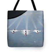 The U.s. Air Force Thunderbird Tote Bag