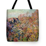 The Valley Of The Sedelle In Crozant Tote Bag